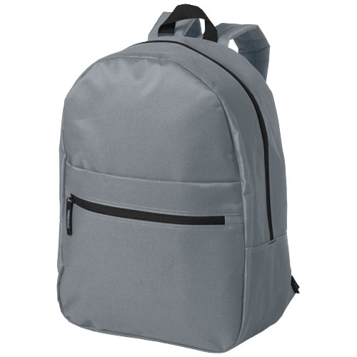 Vancouver dual front pocket backpack in grey