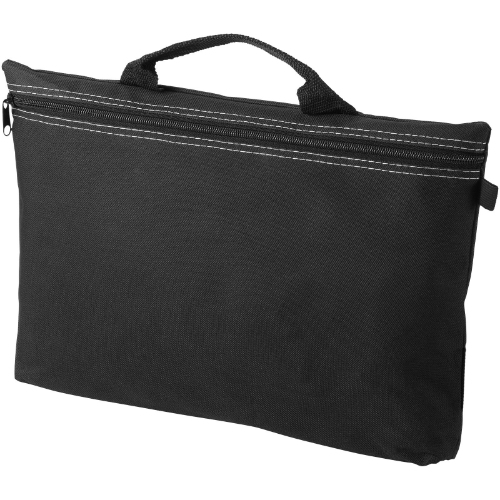 Orlando zippered conference bag with pen loop in