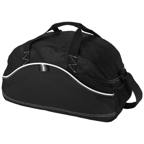 Boomerang duffel bag in black-solid