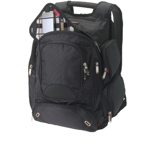 Proton 17'' checkpoint friendly laptop backpack in grey