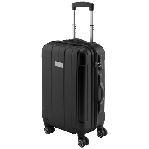 Spinner 20'' carry-on trolley in black-shiny