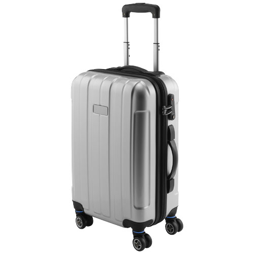 Spinner 20'' carry-on trolley in silver