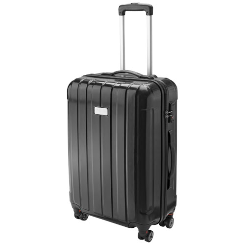 Spinner 24'' carry-on trolley in black-shiny