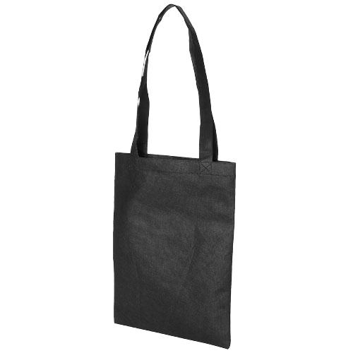 Eros small non-woven convention tote bag in white-solid
