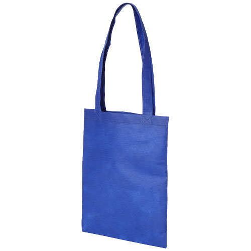 Eros small non-woven convention tote bag in blue