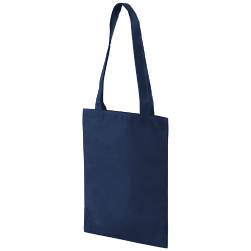Eros small non-woven convention tote bag in navy