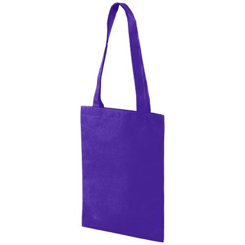 Eros small non-woven convention tote bag in purple