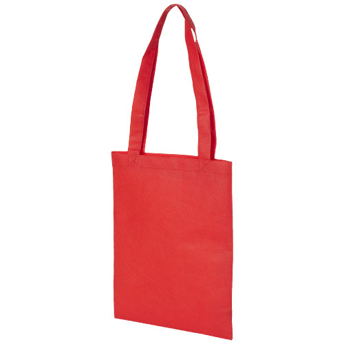 Eros small non-woven convention tote bag in red