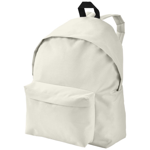 Urban covered zipper backpack in khaki