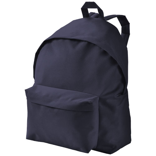 Urban covered zipper backpack in navy