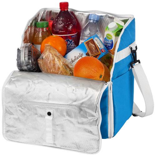 Reykjavik cooler backpack/tote in aqua-blue