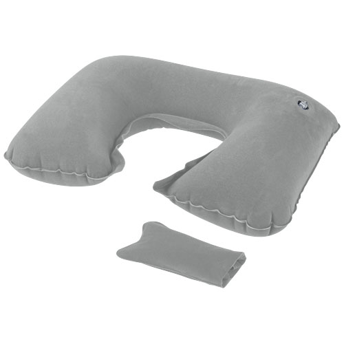 Detroit inflatable pillow in grey