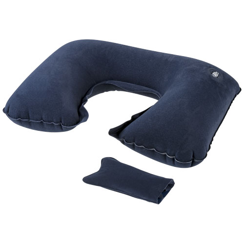 Detroit inflatable pillow in navy