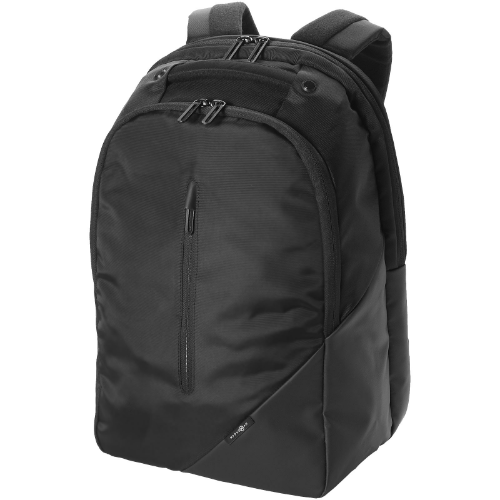 Odyssey 15.4'' laptop backpack in black-solid