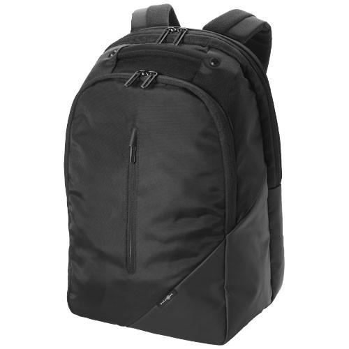 Odyssey 15.4'' laptop backpack in black-solid