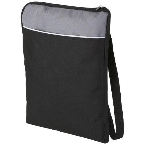 Miami shoulder bag in black-solid-and-grey