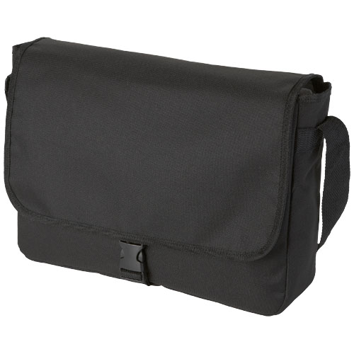 Omaha shoulder bag in black-solid