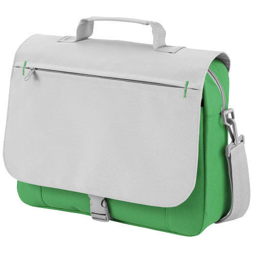 Pittsburgh conference bag in bright-green