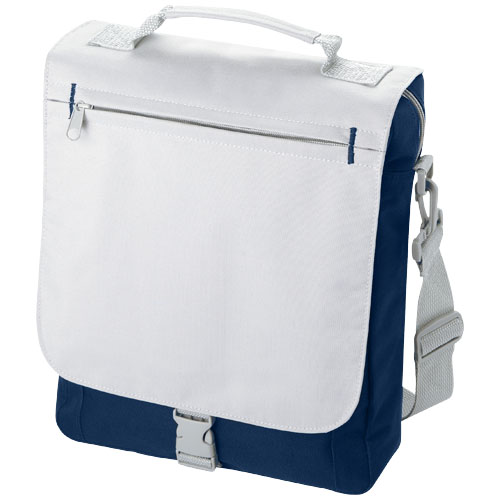 Philadelphia conference bag in navy-and-grey
