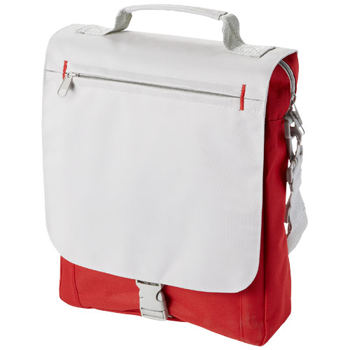 Philadelphia conference bag in red-and-grey
