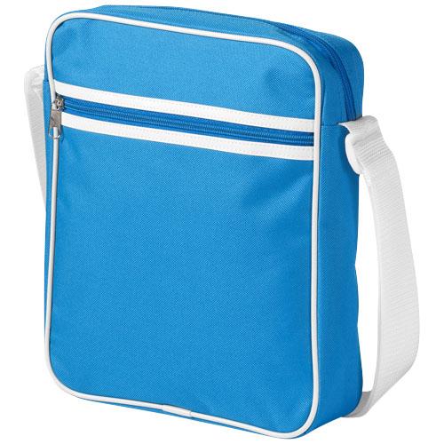 San Diego messenger bag in aqua
