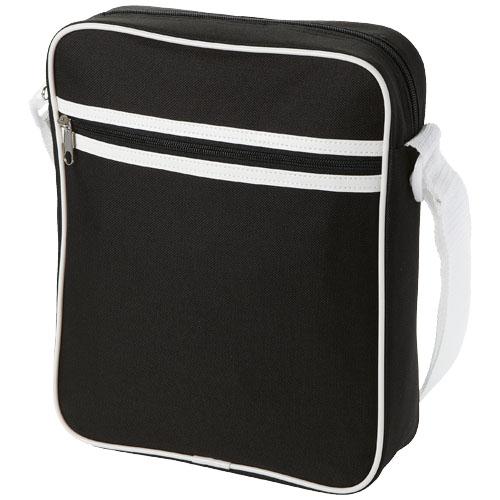 San Diego messenger bag in black-solid