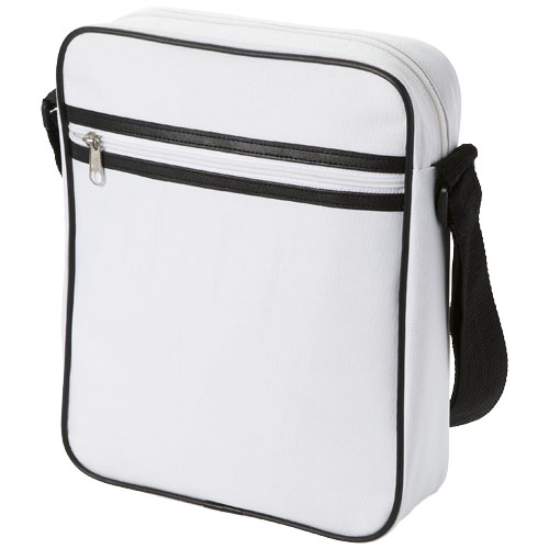 San Diego messenger bag in white-solid