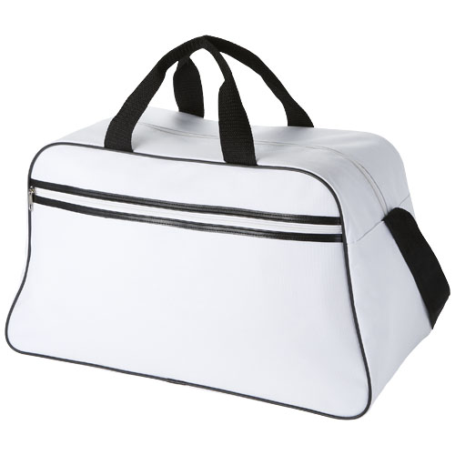 San Jose sport bag in white-solid