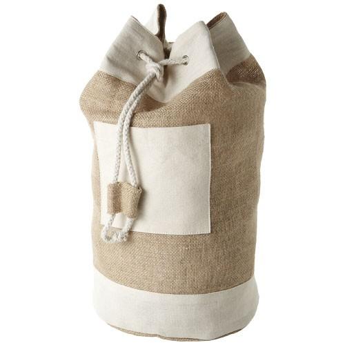 Goa sailor duffel bag made from jute in