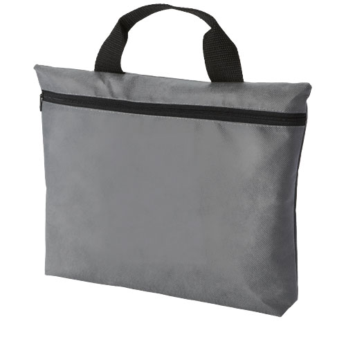 Edison non-woven conference bag in grey