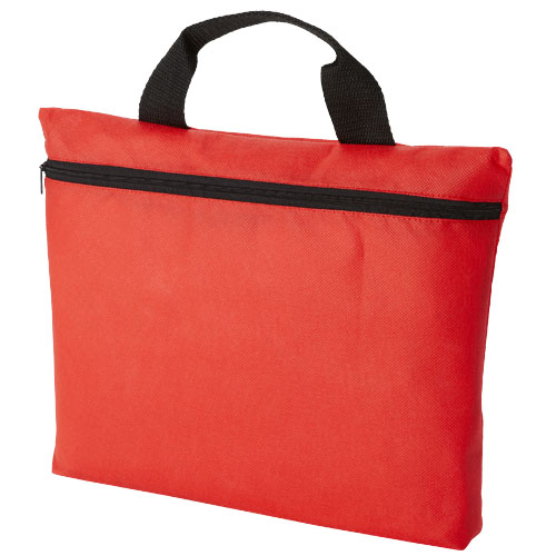 Edison non-woven conference bag in red
