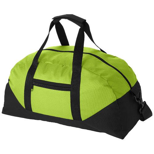 Stadium duffel bag in apple-green
