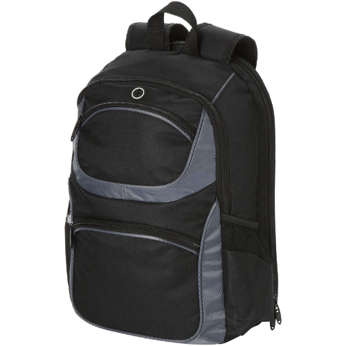 Continental 15.4'' laptop backpack in black-solid