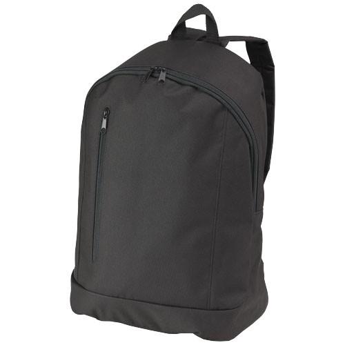 Boulder vertical zipper backpack in yellow