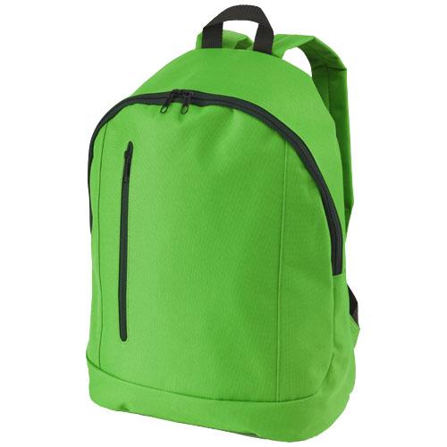 Boulder vertical zipper backpack in bright-green
