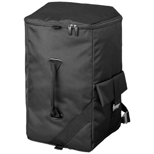 Horizon backpack travel bag in black-solid