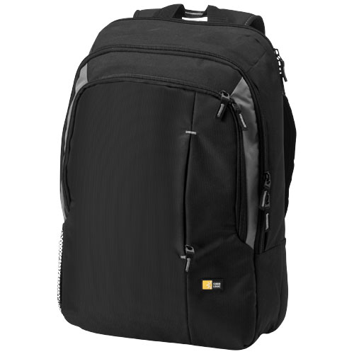 Reso 17'' laptop backpack in black-solid