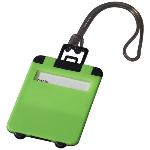 Taggy luggage tag in neon-green