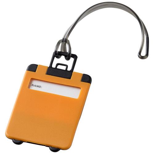 Taggy luggage tag in orange