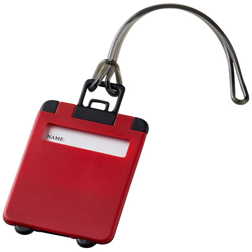 Taggy luggage tag in red