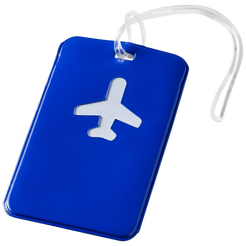 Voyage luggage tag in blue