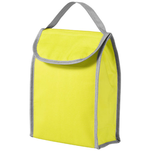 Lapua non woven lunch cooler bag in lime
