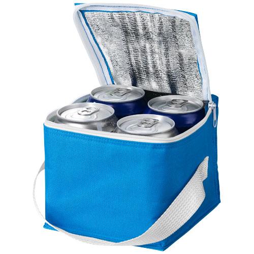 Tromso 4-can cooler bag in aqua