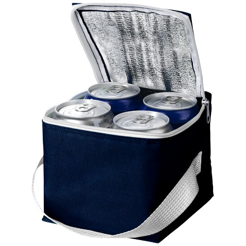 Tromso 4-can cooler bag in navy
