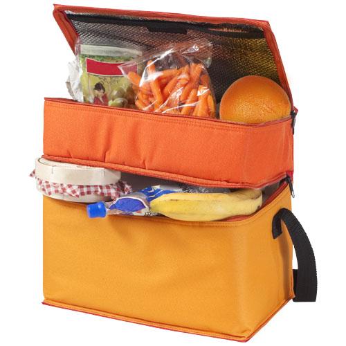 Trias cooler bag in orange