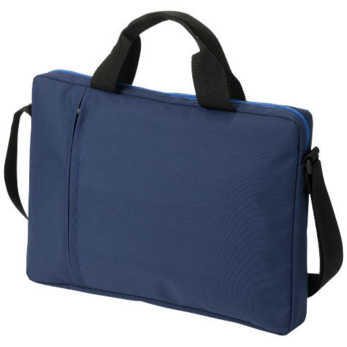Tulsa 14'' laptop conference bag in navy
