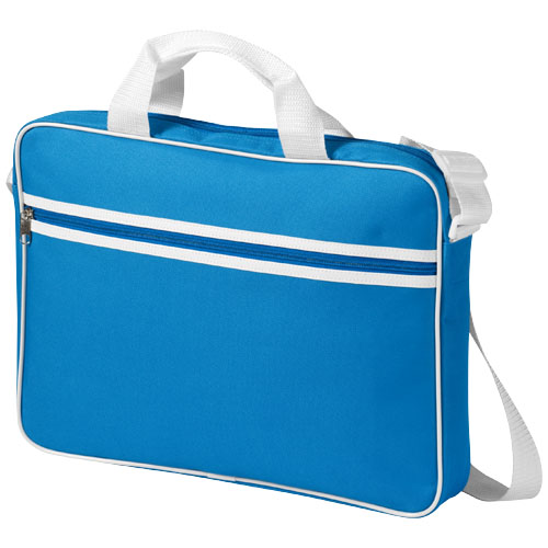 Knoxville 15.6'' laptop conference bag in aqua
