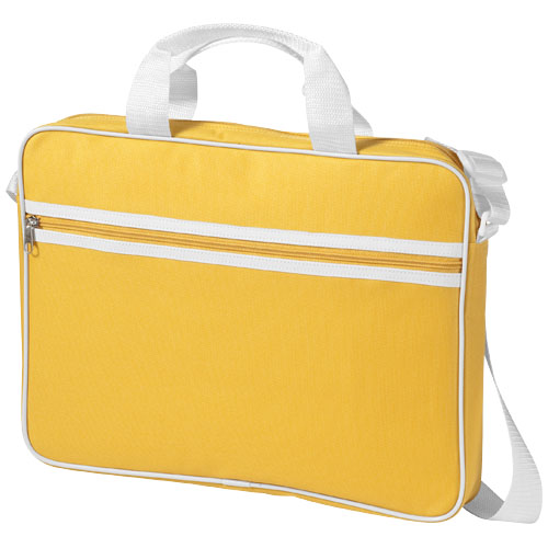 Knoxville 15.6'' laptop conference bag in yellow