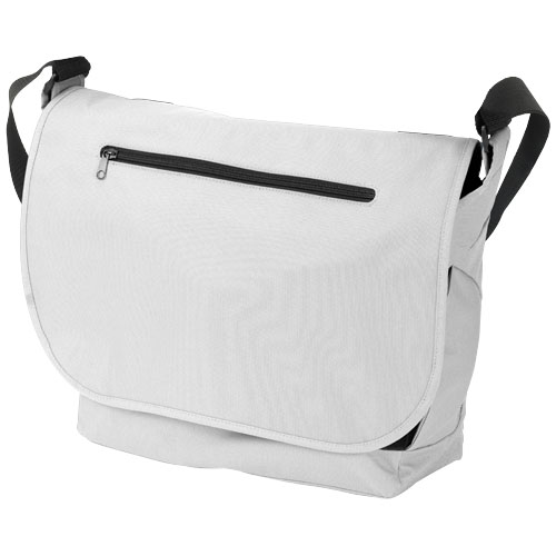 Salem 15.6'' laptop conference bag in white-solid