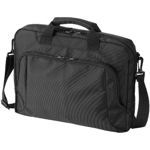 Jersey 15.6'' laptop conference bag in black-solid
